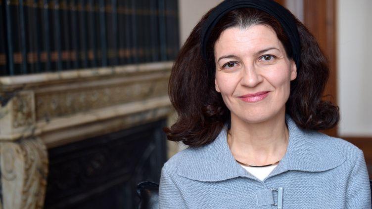 Christine Dupont de Ligonnès, la soeur de XavierDupont de Ligonnès, le 9 avril 2013. (MIGUEL MEDINA / AFP)