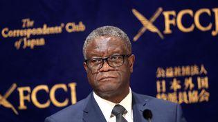 Denis Mukwege, le 3 octobre 2019 à Tokyo (Japon); (BEHROUZ MEHRI / AFP)