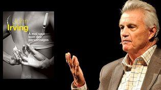 """John Irving, le romancier américain auteur de """"A moi seul bien des personnages"""" (Seuil)"""