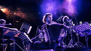 Vincent Peirani à l'accordéon  (Jules Azelie)