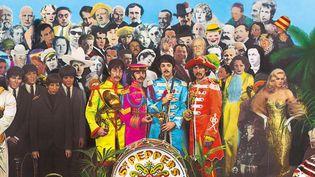 """La pochette mythique de """"Sgt. Pepper's Lonely Hearts Club Band"""". (Apple Corps Ltd.)"""