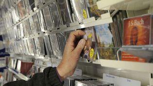 Dans un magasin de musique à Nantes en 2010  (Alain Le Bot/Photononstop)