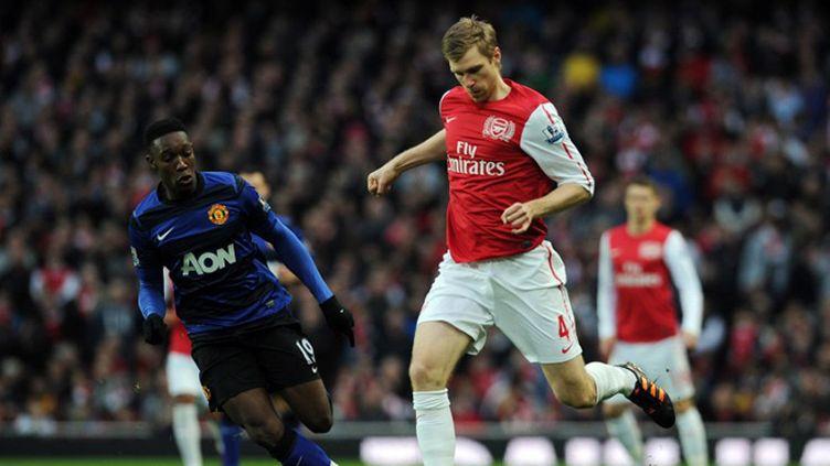 Le buteur néerlandais d'Arsenal Robin Van Persie
