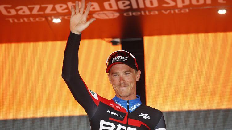 Deuxième victoire sur la Vuelta 2018 pour Rohan Dennis (LUK BENIES / AFP)