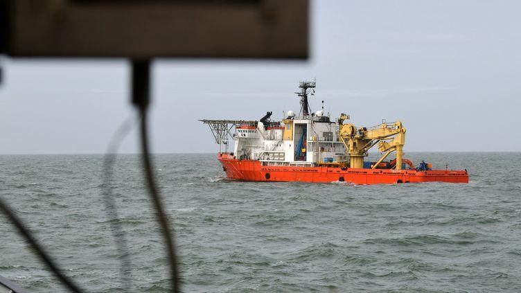 L'épave a été découverte en Mer du Nord lors de recherches pour retrouver les conteneurs perdus par le MSC Zoe