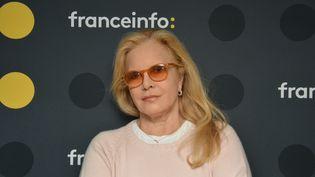 Sylvie Vartan était l'invité de franceinfo mardi 6 mars. (JEAN-CHRISTOPHE BOURDILLAT / RADIO FRANCE)