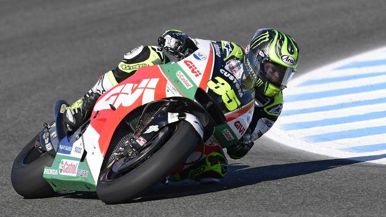 Cal Crutchlow au Grand Prix d'Espagne 2018 (JAVIER SORIANO / AFP)