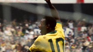 Le Brésilien Pelé est devenu une légende planétaire du football.  (- / NETFLIX)