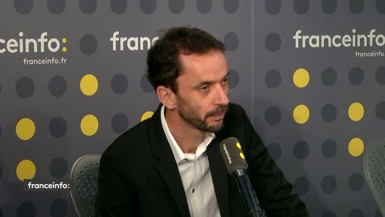 Luc Bronner, directeur de la rédaction du Monde. (FRANCEINFO / RADIOFRANCE)