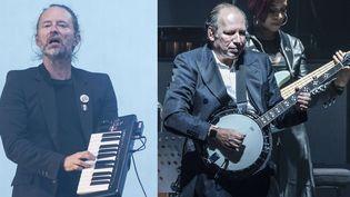 """Thom Yorke de Radiohead et Hans Zimmer ont colaboré pour le titre """"(Ocean) Bloom"""".  (Euan Cherry/WENN.com/Sipa et Elena Di Vincenzo/acific /Sipa)"""