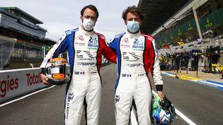Arnold et Maxime Robinlors del'édition 2021 des 24 Heures du Mans, en août 2021. (JULIEN DELFOSSE / DPPI)