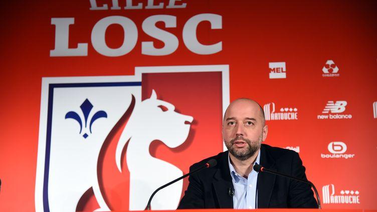 Gérard Lopez, désormais ancien patron du Losc (FRANCOIS LO PRESTI / AFP)