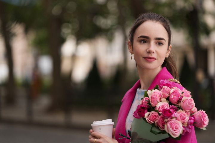 Emily Cooper (Lily Collins). (NETFLIX)