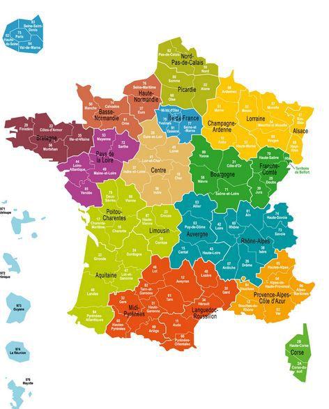 Les députés ont adopté une carte de France à 13 régions, mercredi 19 novembre 2014. (MINISTERE DE L'INTERIEUR )