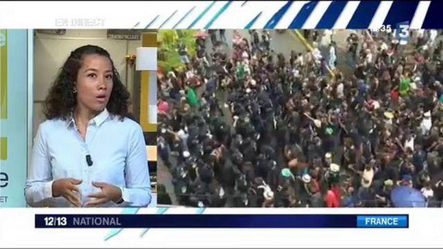 Guyane : le centre spatial occupé par des manifestants