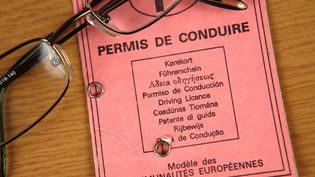 Un permis de conduire (photo d'illustration) (PHILIPPE TURPIN / MAXPPP)