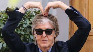 Paul McCartney, toujours plein de fantaisie, en juillet 2018.  (John Rainford/WENN/SIPA)