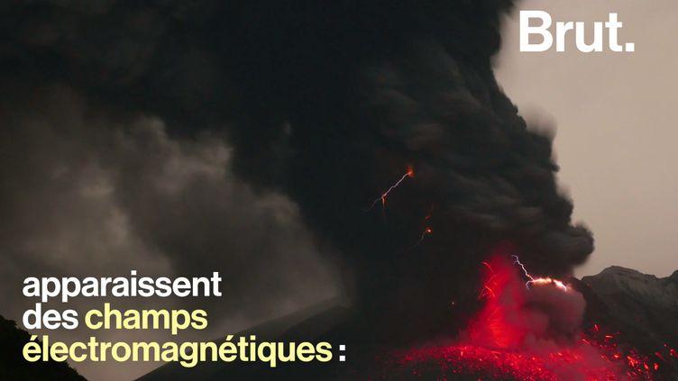 VIDEO. La puissance des orages volcaniques expliquée (BRUT)