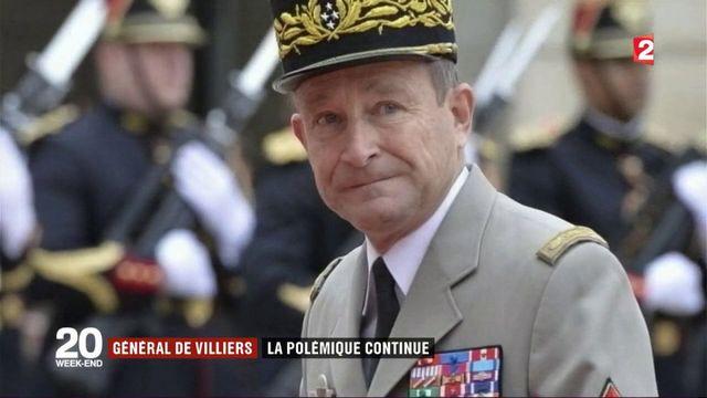 Général de Villiers : la polémique continue