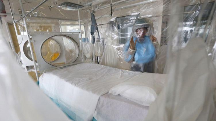 (Le patient suspect a été placé à l'isolement à l'hôpital de Bilbao  © Reuters/ Suzanne Plunkett)