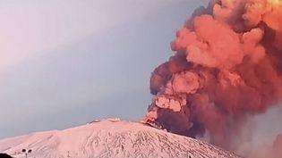 L'Etna en Italie. (FRANCEINFO)