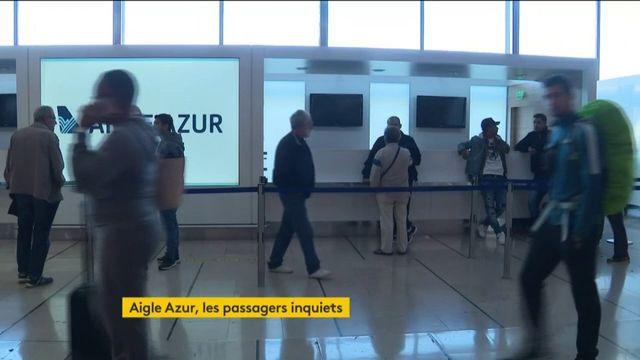 Aigle Azur : derniers vols pour la compagnie, les passagers bloqués en colère
