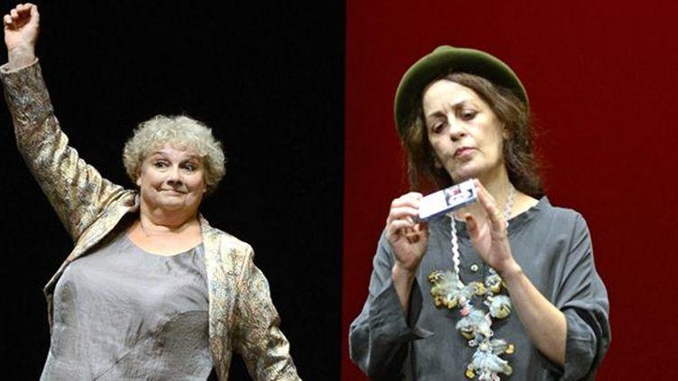 Christine Murillo et Dominique Valadié  (Eric Didym )