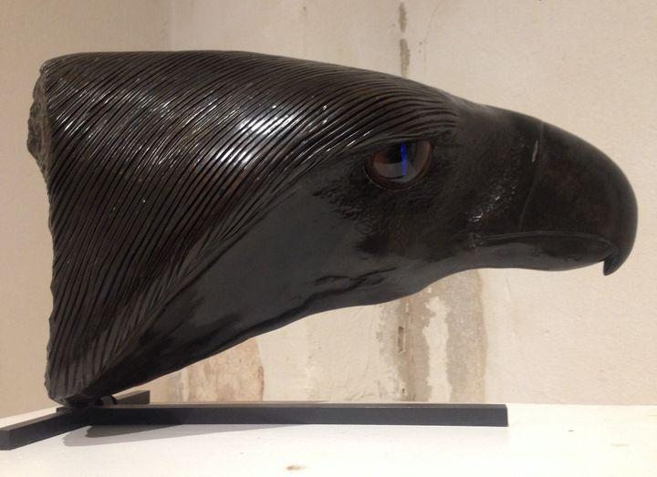 Sculpture de François Chapelain-Midy  (François Chapelain-Midy / Espace culturel Saint-Pierre des Minimes, Compiègne  )