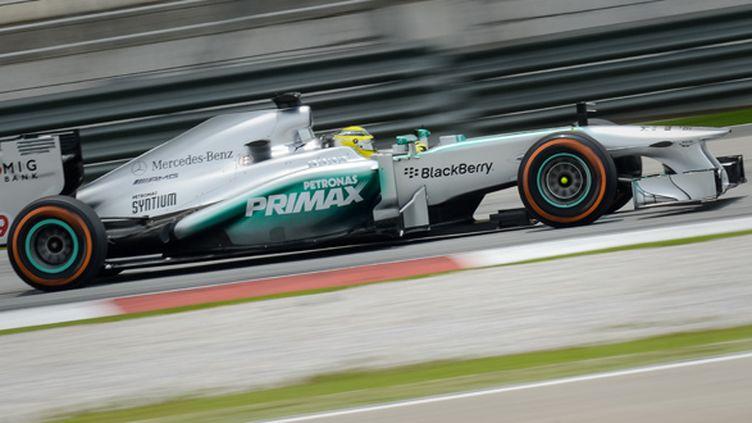 L'Allemand Nico Rosberg (Mercedes)