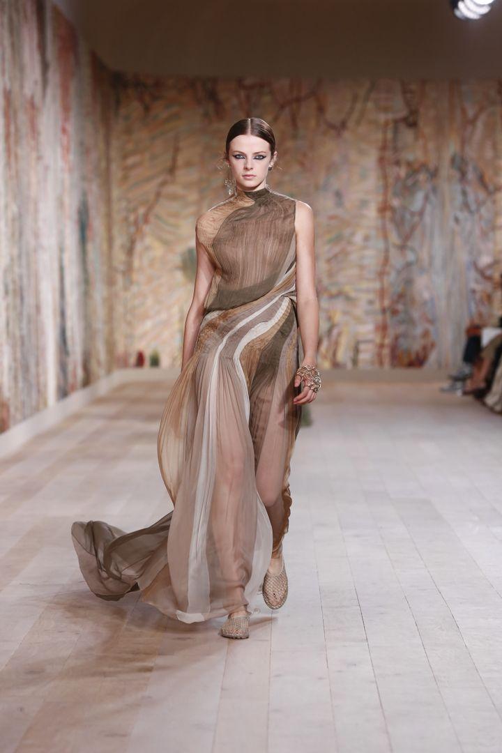 Dior haute couture automne-hiver 2021-22 à Paris, le 5 juillet 2021 (LUDWIG BONNET-JAVA))