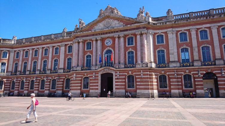 La place du Capitole de Toulouse. (MATHIEU FERRI / FRANCE-BLEU OCCITANIE)