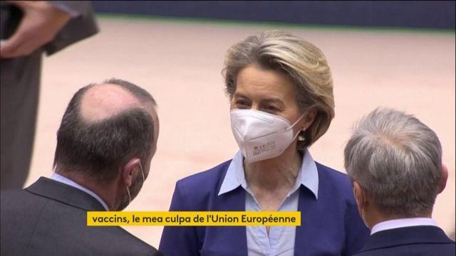 OK Vaccins contre le Covid-19 : la présidente de la Commission européenne fait son mea culpa