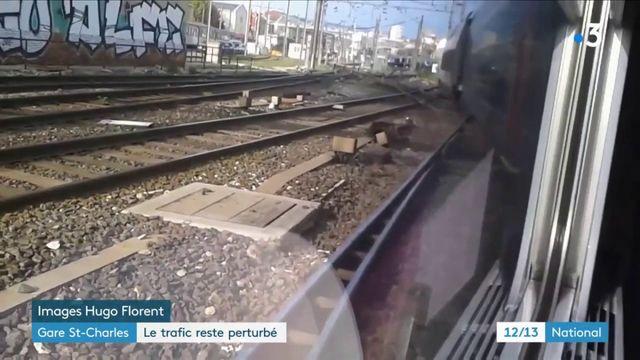 Gare Saint-Charles : le trafic reste perturbé