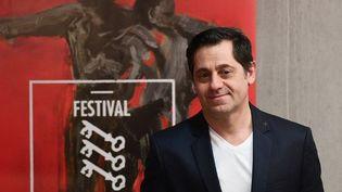 Olivier Py, directeur du Festival d'Avignon, lors de la présentation du programme 2017  (BORIS HORVAT / AFP)