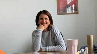 Alexandra Henoschsberg, directrice de la société AD Vitam. (MATTEU MAESTRACCI / RADIO FRANCE / FRANCEINFO)