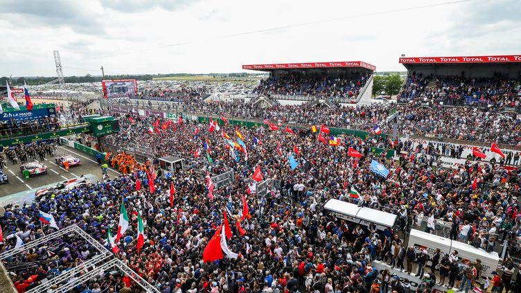 Le traditionnel envahissement de la piste des 24 heures du Mans n'aura pas lieu en 2020 (MARC DE MATTIA / DPPI MEDIA)