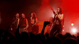 """Le groupe """"Riff/Raff"""" devant un public conquis  (Capture d'image France3/Culturebox)"""