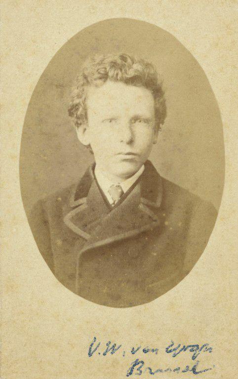 Théo Van Gogh à 15 ans  (HO / VAN GOGH MUSEUM AMSTERDAM / AFP)