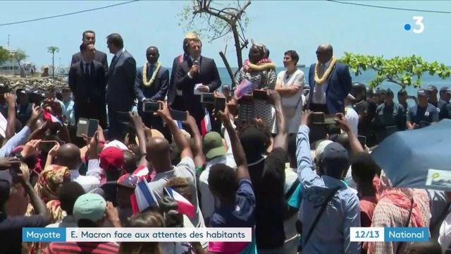 Mayotte : les Mahorais attendent des solutions de la part d'Emmanuel Macron