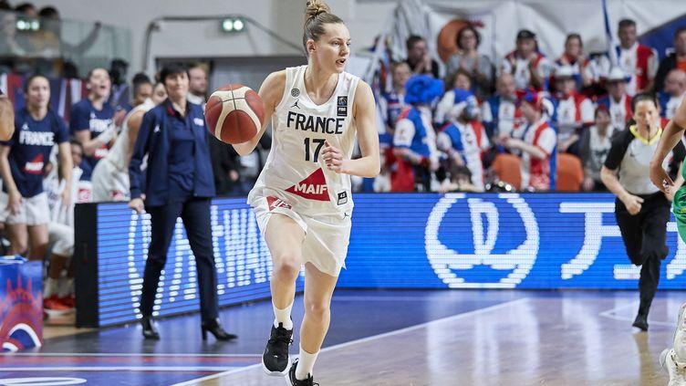Marine Johannès, joueuse de l'équipe de France (ANN-DEE LAMOUR / ANN-DEE LAMOUR)