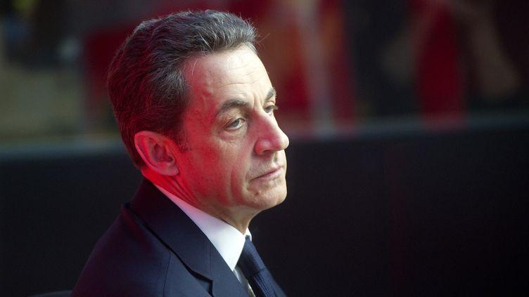"""L'avocat des familles de victimes de l'attentat de Karachi a déposé plainte contre Nicolas Sarkozy pour """"violation du secret de l'enquête et de l'instruction"""", le 18 juin 2012. (LIONEL BONAVENTURE / AFP)"""