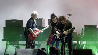 Le groupe anglais The Cure à la 17e édition du festival Rock en Seine, fin août, en 2019. (SADAKA EDMOND/SIPA)