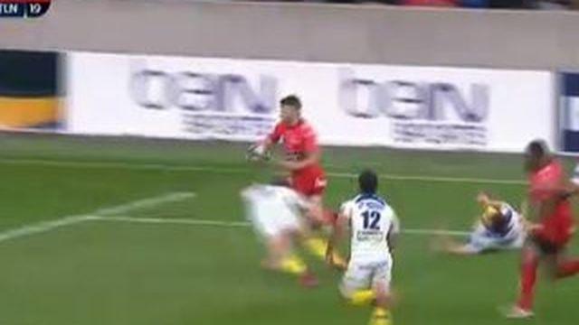 Dernier essai de Toulon face à l'ASM