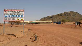 Exploitation minièreà Tambao, à 350 kilometres au nord-est de la capitale du Burkina Faso, Ouagadougou(photo de 2015). (AHMED OUOBA / AFP)