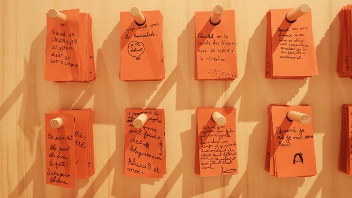 Souvenirs de rire au musée de l'Homme (Marine Ritchie)
