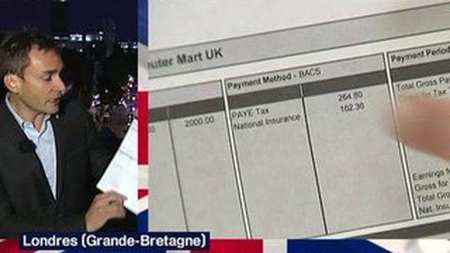 Une fiche de paie française calquée sur le modèle anglais ?