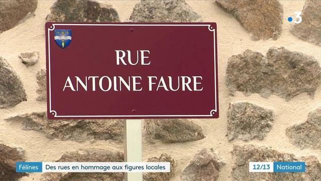 Haute-Loire : des rues baptisées en hommage aux personnalités locales