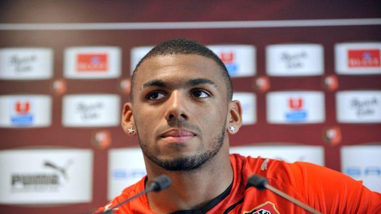Yann Mvila espère rejouer rapidement sous le maillot tricolore (ALAIN JOCARD / AFP)
