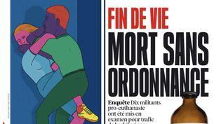 """La une du journal """"Libération"""" du 8 mars 2021. (LIBERATION)"""