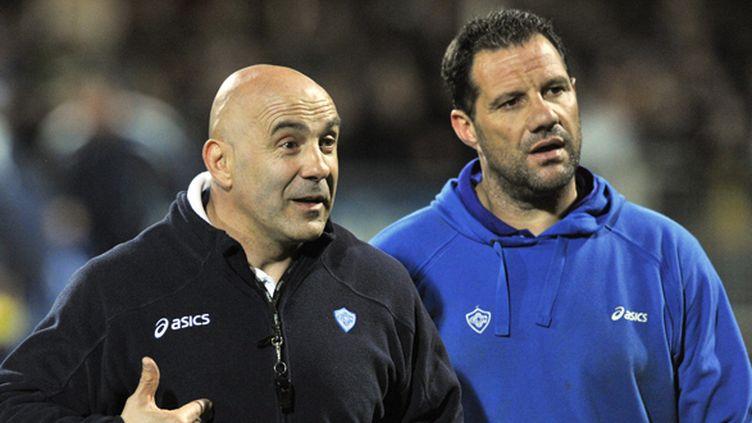 Laurent Travers et Laurent Labit
